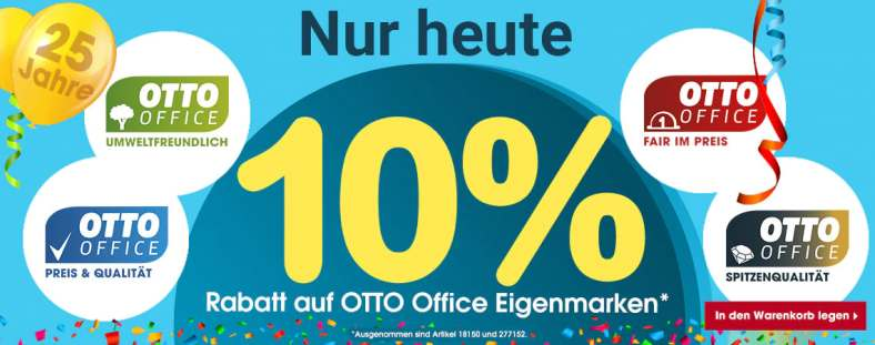 OTTO-Office 10% Aktionscode