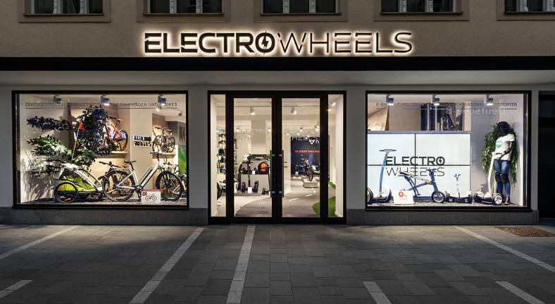 E-Bikes von Electrowheels Regensburg