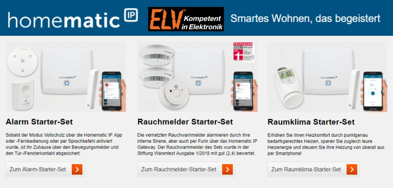 ELV Homematic Angebote