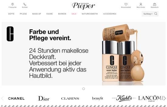 Gutschein von Parfümerie Pieper