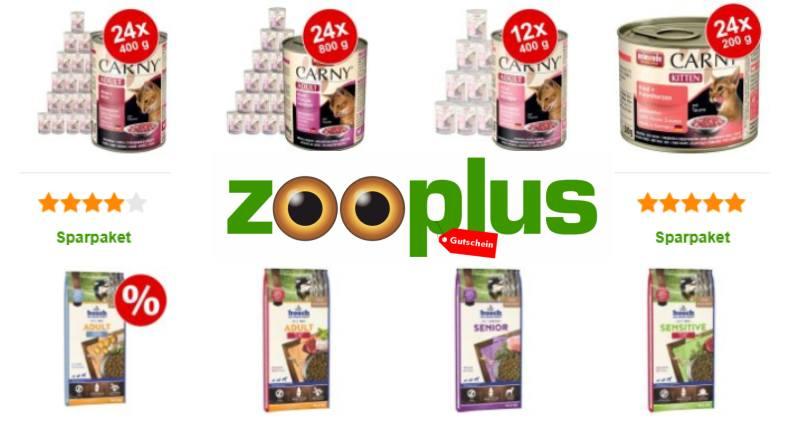 Zooplus Rabatt auf Futter & Snacks
