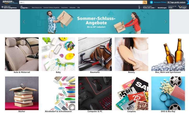50% Amazon Rabatt auf fast alles