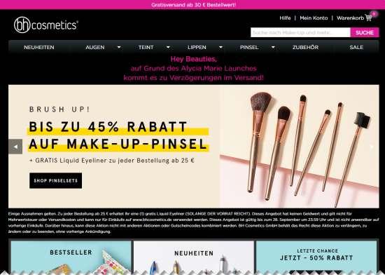 BH Cosmetics Make-Up Pinsel