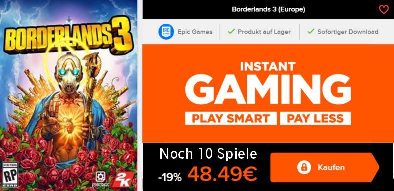 Borderlands 3 Game Key kaufen