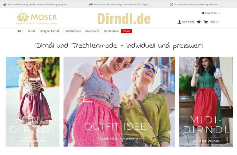 Dirndl.de - Trachten.de Onlineshop