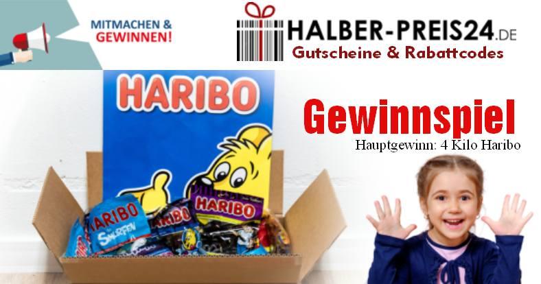 Halber-Preis24 Haribo Gewinnspiel - 09.2019