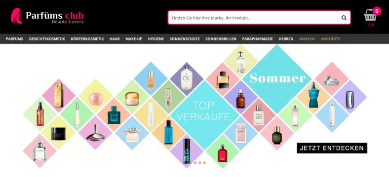 Parfüm Gutschein von Parfüms Club