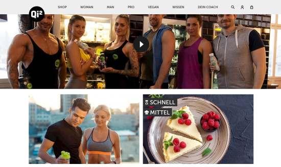 Qi2 Onlineshop für Sportnahrung