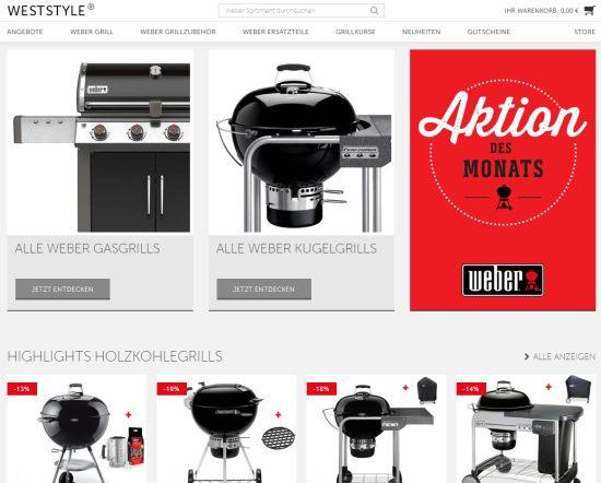 Weststyle - Weber Grill Online Shop