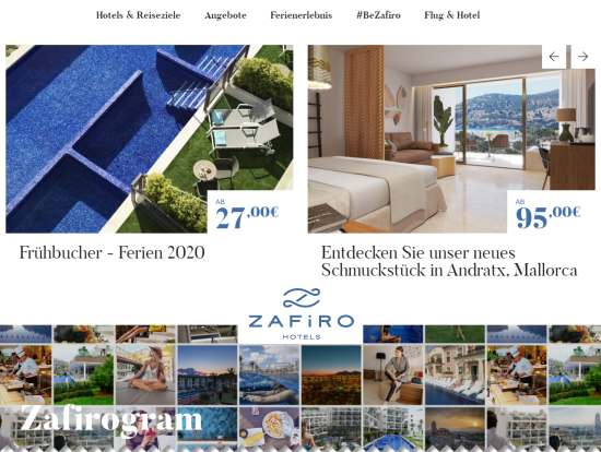 Zafiro Hotels Mallorca buchen