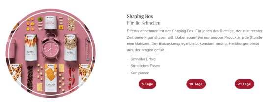 Amapur Diät Boxen
