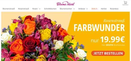 Blumen einfach online verschicken
