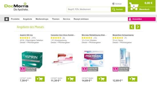DocMorris Medikamente online kaufen