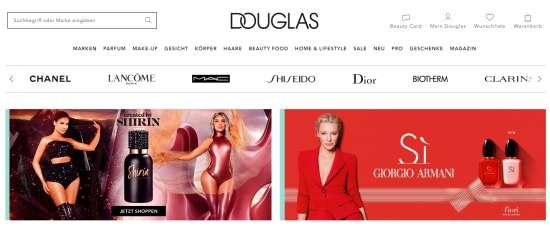 Parfümerie Douglas Online-Shop Angebote