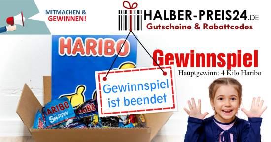Halber-Preis24 Haribo Gewinnspiel ist beendet
