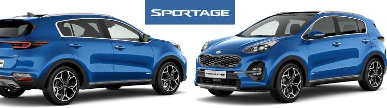 Kia Sportage blau
