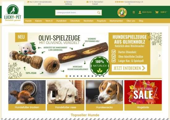 Getreidefreies Hundefutter kaufen
