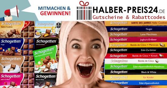 Halber-Preis24 - Schogetten Gewinnspiel