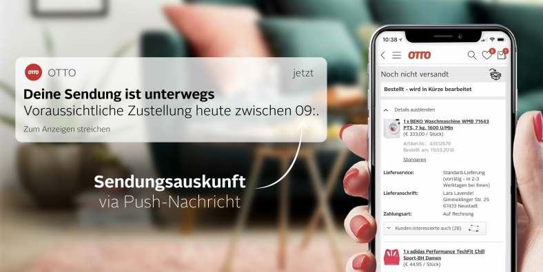 Sendungsauskunft per App