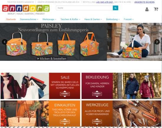 anndora.de Online-Shop
