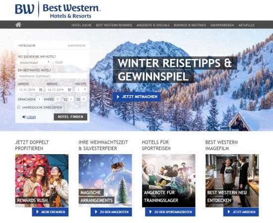 Best Western Hotel Gutschein sichern