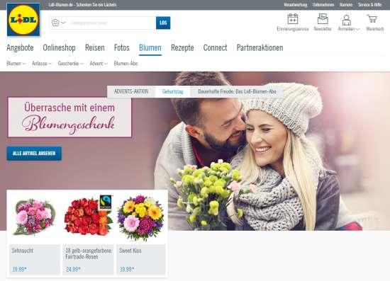 Lidl-Blumen Gutschein