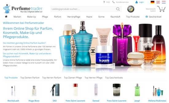 Perfumetrader Online-Shop