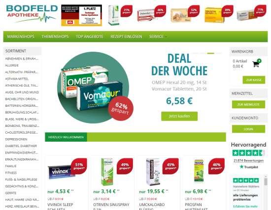 Bodfeld Online Apotheke
