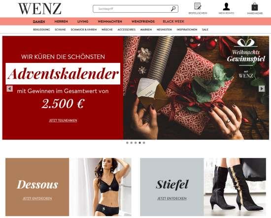 WENZ Adventskalender 2500€
