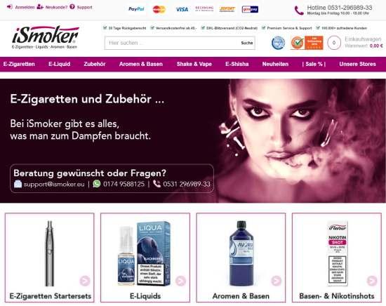 iSmoker - E-Zigaretten & Liquids