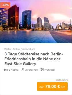 3 Tage Berlin Städtereise