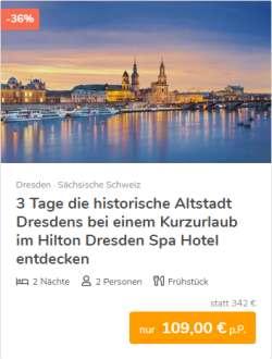 3 Tage Dresden Städtereise