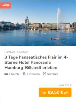 3 Tage Hamburg Städtereise