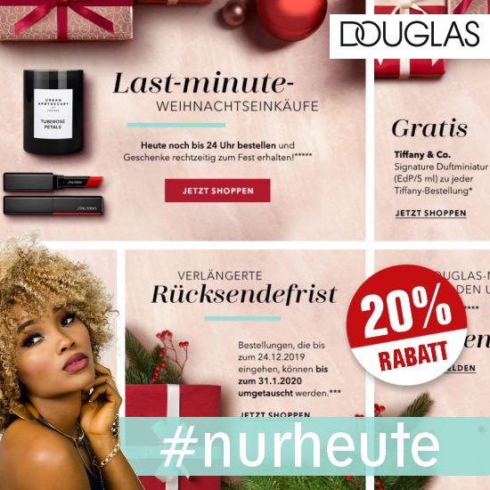 Douglas 20 Prozent Gutschein