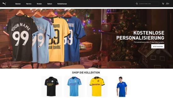 PUMA Online-Shop mit Outlet-Preisen