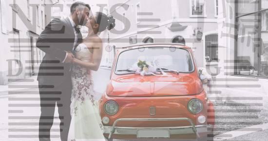 Hochzeitszeitung exakt vom Hochzeitstag