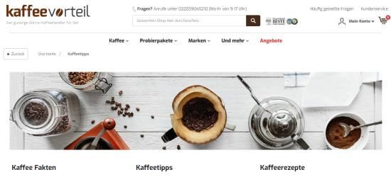 Kaffee-Tipps
