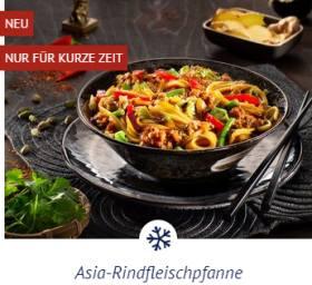 Asia-Rindfleischpfanne
