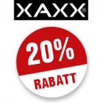 20% XAXX Gutschein