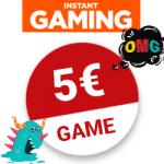 5€ für TOP-Spiele bei INSTANT GAMING