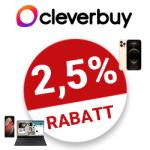 2.5% Cleverbuy Gutschein