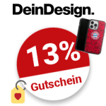 13% DeinDesign Gutschein